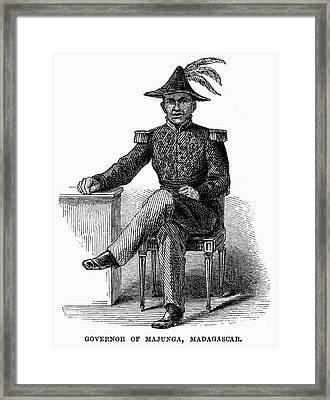 Madagascar: Governor Framed Print by Granger
