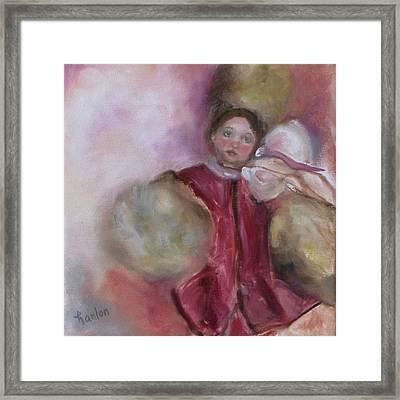 Madame Alexander Cisette Doll Framed Print by Susan Hanlon