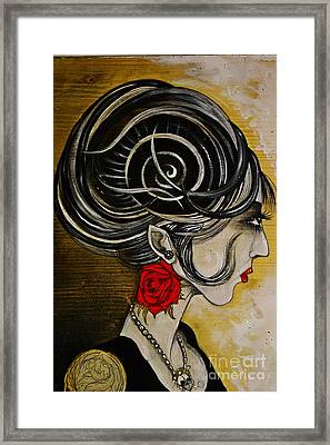 Madame D. Eternal's Dance Framed Print