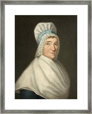 Madame Gabriel Cotte Framed Print by Louis Cretien de Heer