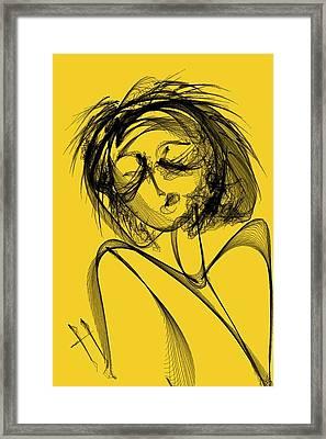 Madame Vicious Framed Print by Hayrettin Karaerkek