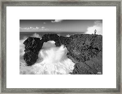 Made By Nature Framed Print by Rui Silveira