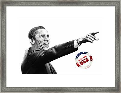Made For Usa Framed Print by Steve K
