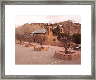 Made It To Chimayo  Framed Print