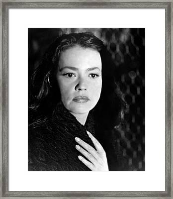 Mademoiselle, Jeanne Moreau, 1966 Framed Print by Everett