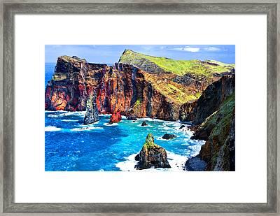 Framed Print featuring the photograph Madera Bay by Rick Bragan