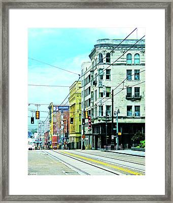 Framed Print featuring the photograph Madison Avenue by Lizi Beard-Ward