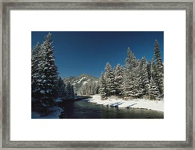Madison River, Gallatin National Framed Print by Raymond Gehman