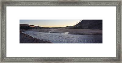 Madison River Sunrise Framed Print by Twenty Two North Photography