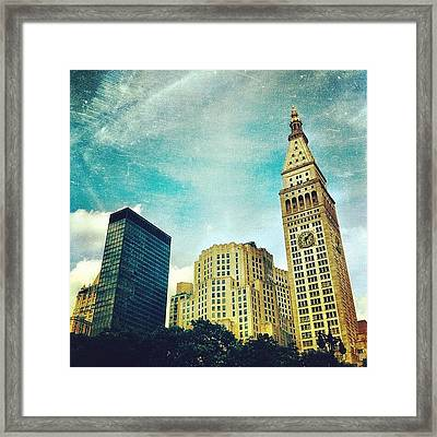 Madison Square Park. #nyc #manhattan Framed Print