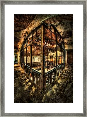 Madness Comes To Overload Framed Print