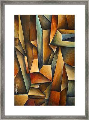 'madness' Framed Print by Michael Lang