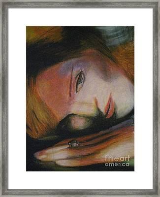 Madonna Framed Print by Dwayne Goulbourne