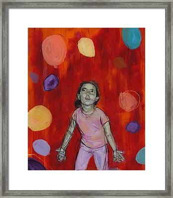 Mady Framed Print by Eric Atkisson