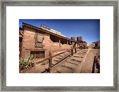 Maggie Mining 3 Framed Print by Jessica Velasco