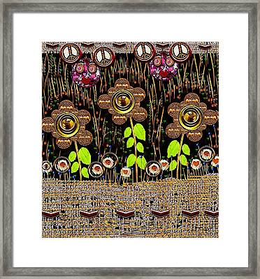 Magic Is Here To Stay Pop Art Framed Print by Pepita Selles