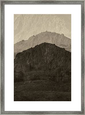 Magic Mt Sante Fe Framed Print