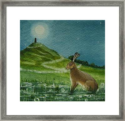 Magic Of The Tor Framed Print by Lisa OMalley