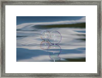 Framed Print featuring the photograph Magic On The Water by Cathie Douglas