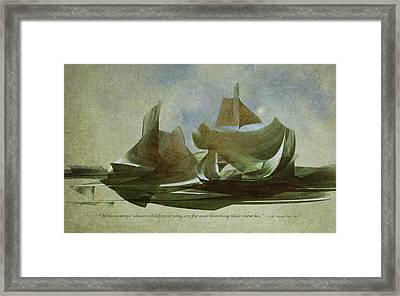 Magic Shores Framed Print by Jean Moore