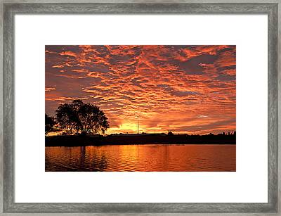 Magic Sunrise Framed Print
