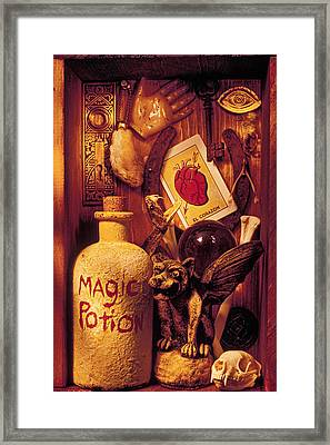 Magic Things Framed Print by Garry Gay