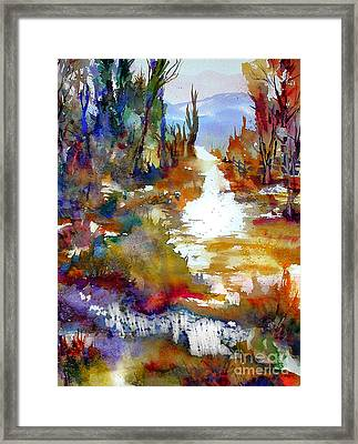 Magic Trail Framed Print