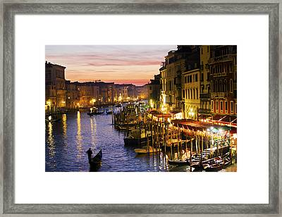Magic Venice Framed Print by Francesco Riccardo  Iacomino