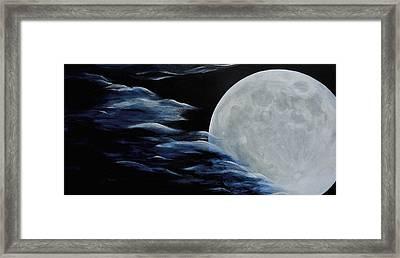 Magica Luna Framed Print