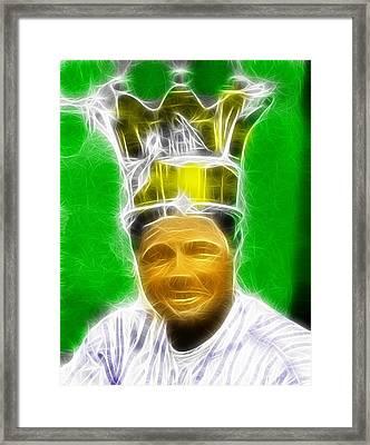 Magical Babe Ruth Framed Print