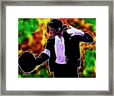 Magical Michael Framed Print by Paul Van Scott