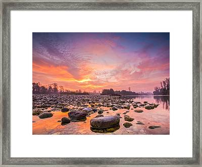 Magical Morning Framed Print by Davorin Mance