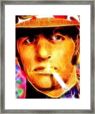 Magical Ringo Starr Framed Print by Paul Van Scott