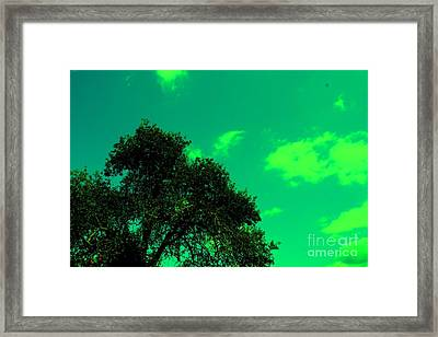 Magical Sky Framed Print by Michael Grubb