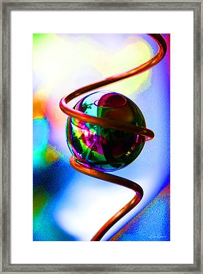 Magical Sphere Framed Print