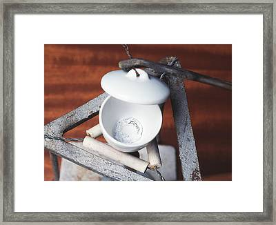 Magnesium Oxide Framed Print by Andrew Lambert Photography