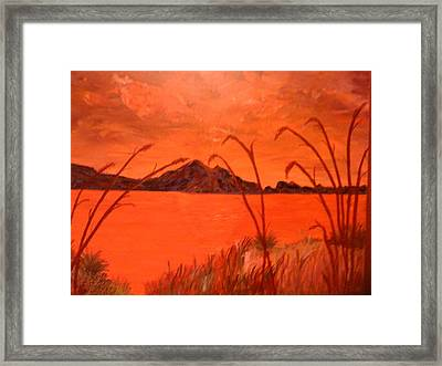 Magnetic Island Sunset Framed Print