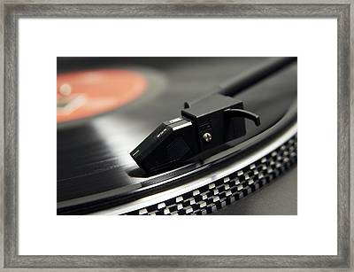 Magnetic Pickup Cartridge Framed Print