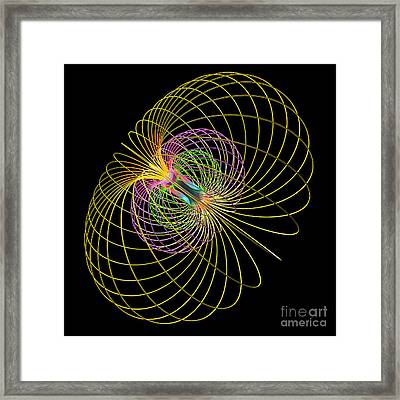 Magnetism 2 Framed Print