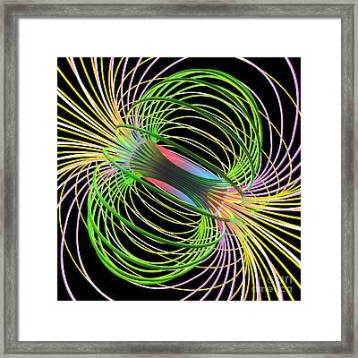 Magnetism 5 Framed Print