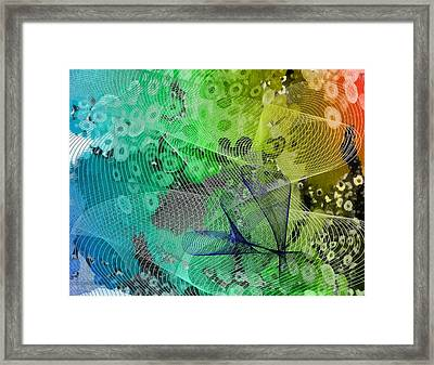 Magnification 5 Framed Print