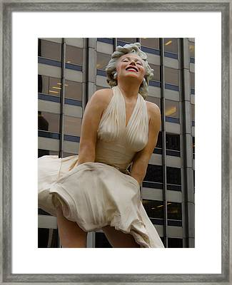 Magnificent Marilyn Framed Print