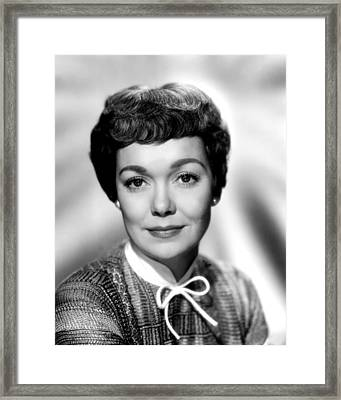 Magnificent Obsession, Jane Wyman, 1954 Framed Print by Everett