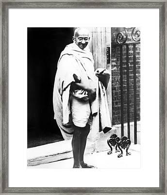 Mahatma Gandhi, 1931 Framed Print