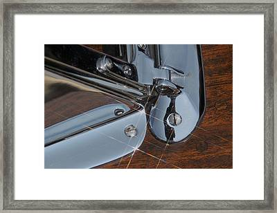 Mahogany And Chrome Framed Print by Steven Lapkin