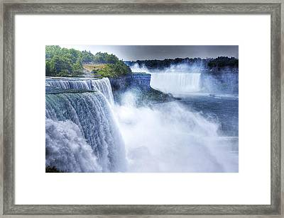 Maid Of The Mist Framed Print by William Fields