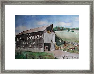 Mailpouch Framed Print by David Ignaszewski