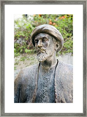 Maimonides, Jewish Philosopher Framed Print by Sheila Terry