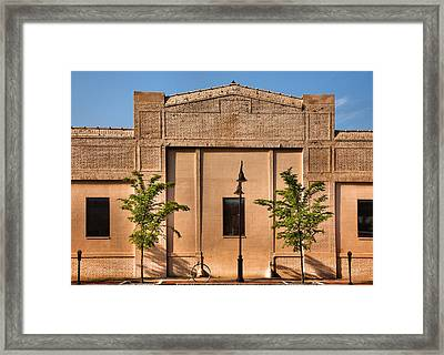 Main Street Building Framed Print by Steven Ainsworth