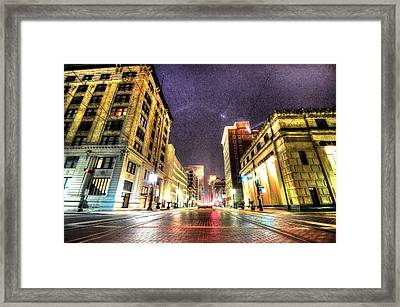 Main Street Framed Print by David Morefield